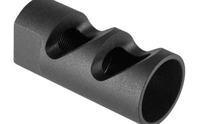 AR-15 MUZZLE BRAKE 9MM CALIFORNIA COMPLIANT