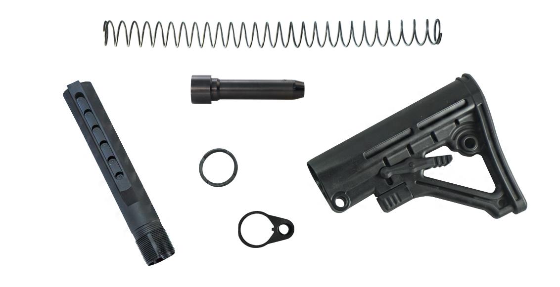 PCC 6 Position Carbine Receiver Extension Build Kit | Foxtrot Mike