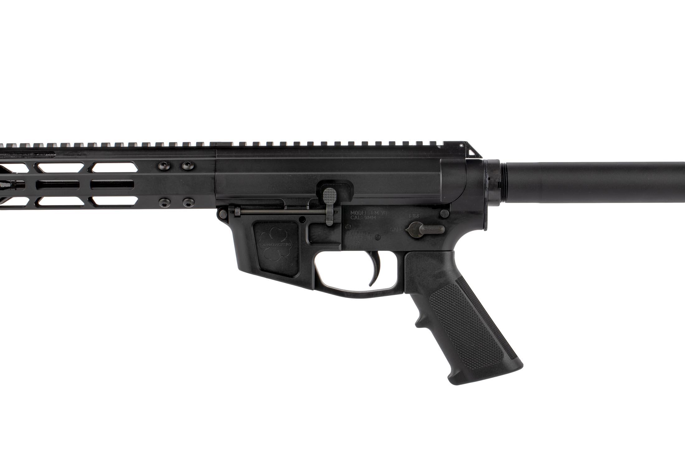 FM 7″Glock Style Side Charging 9mm AR Pistol | Foxtrot Mike