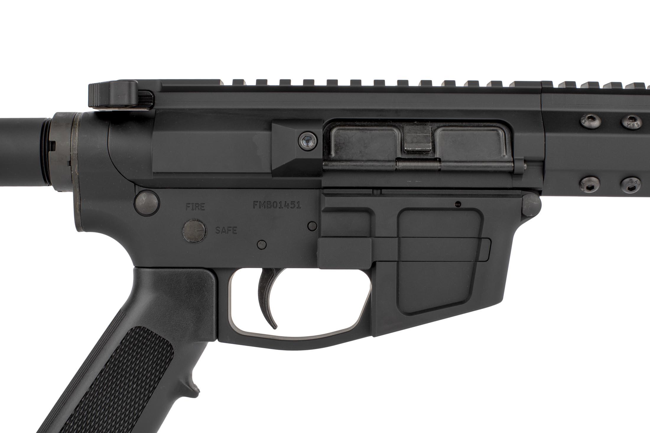 FM9 5″ Glock Style 9mm AR Pistol with Brace   Foxtrot Mike