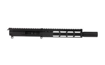 FM9 Complete Upper 8.5″.45 ACP Glock Style 8″ M-LOK Rail Blast Diffuser