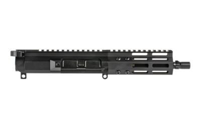 FM9 7″ Glock Style Ultra Light 9mm Tri-Lug Complete Upper – 5″ M-LOK Rail