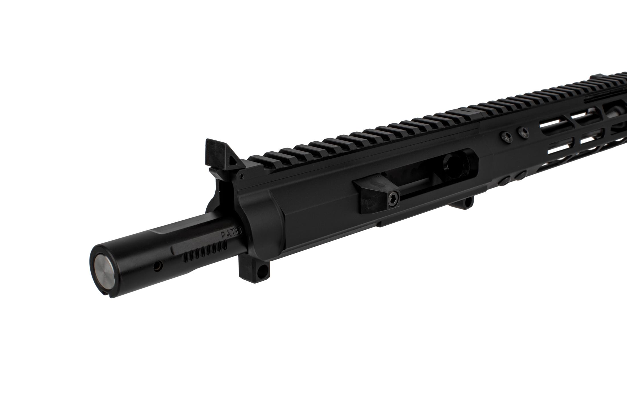 FM9 Complete 9mm AR Upper 7″ Glock Style 8 75″ M-LOK Rail Blast