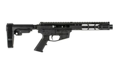 FM 7″ Glock Style Side Charging 9mm AR Pistol SBA3 Brace