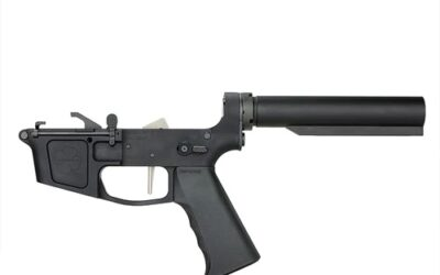 Complete Billet 9MM Pistol Receiver