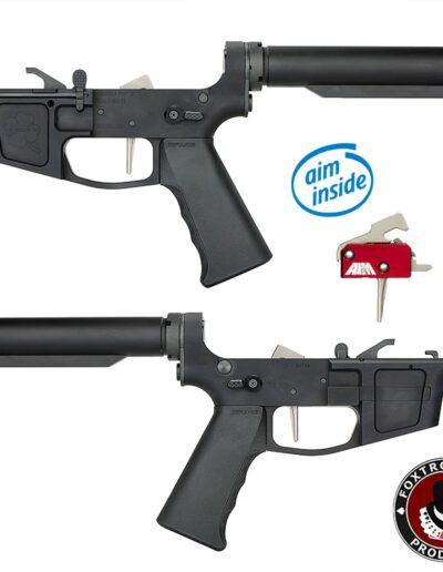 3-Foxtrot Mike Premium Complete Billet 9MM Pistol Receiver