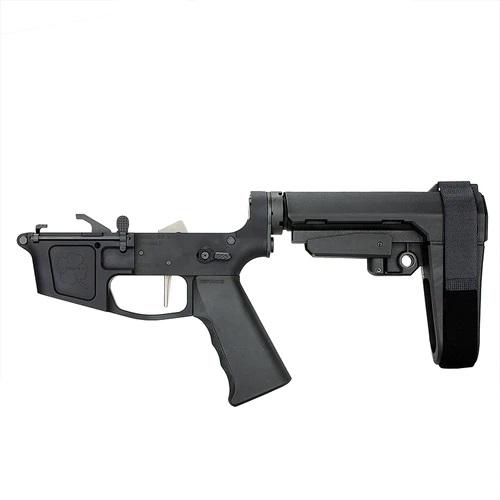 jpeg-2-Foxtrot Mike Premium Complete Billet 9MM Pistol Receiver with SBA3 Brace