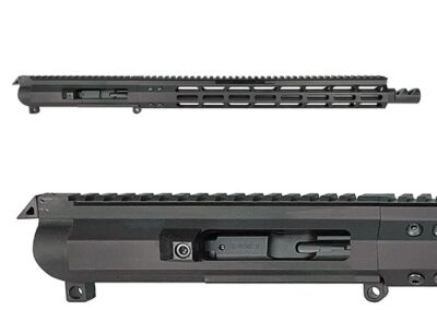 jpeg1-FM-9 16 in. Forward Charger 9mm AR Upper Receiver